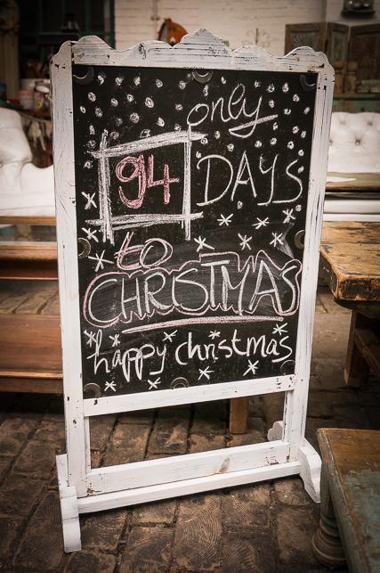 Weniger wie 100 Tage bis Weihnachten