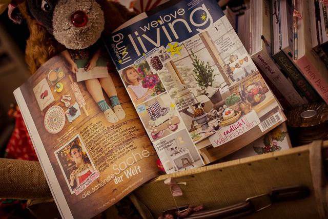"""Backen mit Love im """"We Love Living"""" Magazin"""