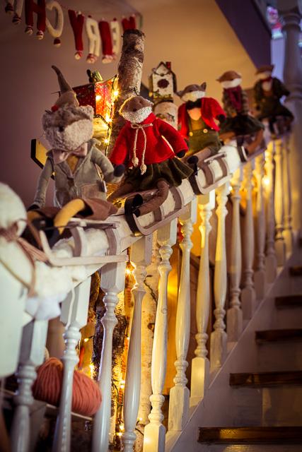 """""""Santa's little Helper"""" auf dem Weg ins Erdgeschoss"""