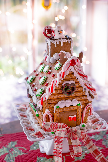 Home, sweet 'Gingerbread' home!