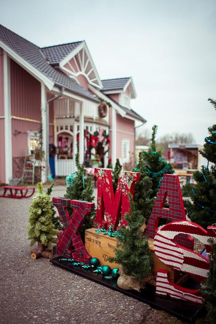 Der kleine Wichtelmarkt am Rosa Haus