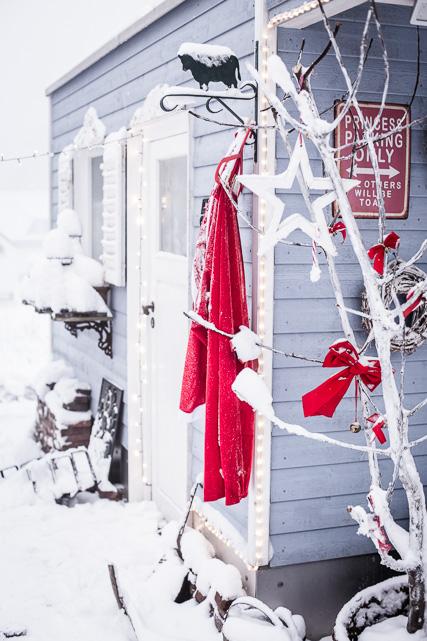 Der Weihnachtsmann hat seinen Mantel vergessen