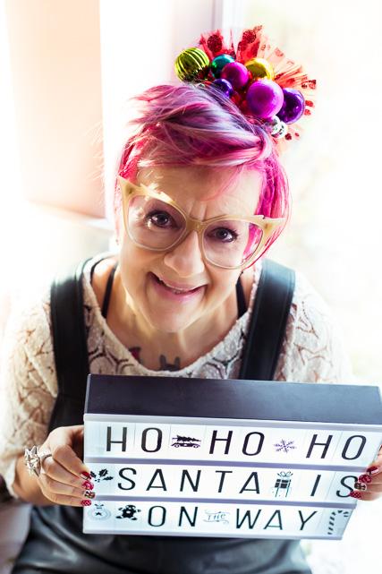"""Mein Lieblings """"Weihnachts-Headpiece"""". Das habe ich von Party City aus dem Urlaub in USA mitgebracht"""