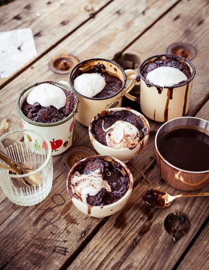 Extra Schokosoße für alle Chocolate Lovers
