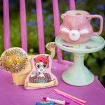 Das Rosa Haus, ich und mein Buch als Cookie