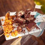 Tiffinbars und Caramel Cornflakes Bocaditos