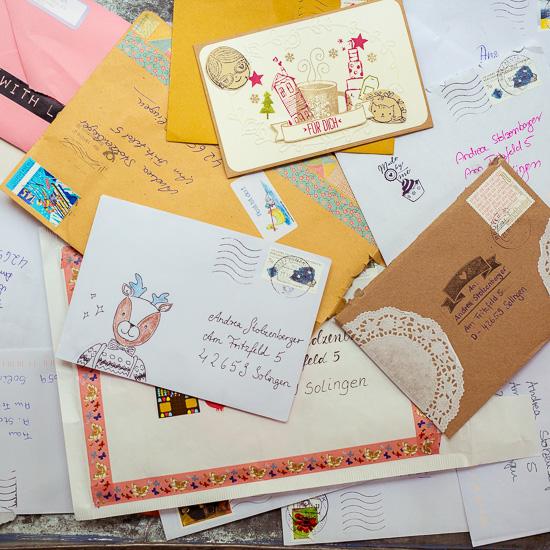 Vielen Dank für die vielen tolle Briefe