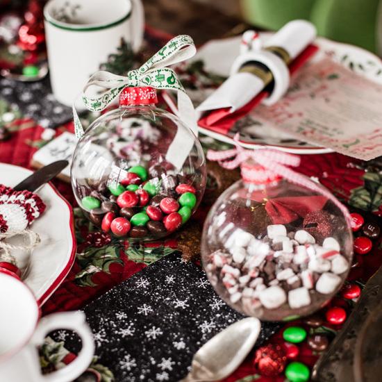 """Für diese Saison überlege ich mir noch eine ganz spezielle """"Tisch Weihnachts Deko"""""""