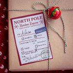 Geschenkesticker vom Nordpol