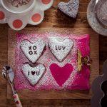 Brownie Herzen