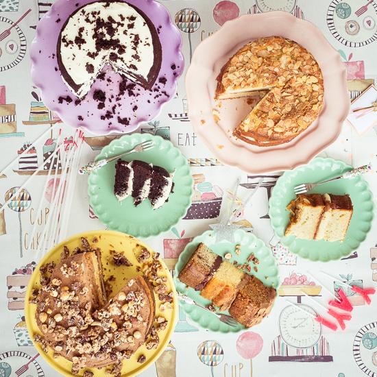 Kuchen Party im Rosa Haus