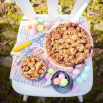 Kirsch-Rhabarber Pie Sonntag