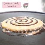 Cinnamon Swirl Pancakes