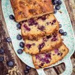 Blueberry Granola Bread
