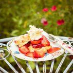 Strawberry Shortcakes mit Erdbeeren und Clotted Cream