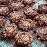 Triple Chocolate Caramel Cookies