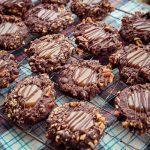 Triple Chocolate Caramel Cookies
