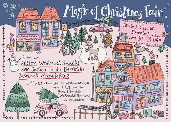 komm zum ersten Weihnachtsmarkt der Saison Freitag 3.11. - Sonntag 5.11. jeweils 10:00 bis 18:00 Uhr Bergische Zwieback Manufaktur Wermelskirchener Str. 2, 42659 Solingen