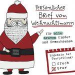 Brief vom Weihnachtsmann 2017