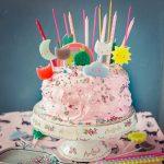 Pink Marshmallow Cake