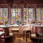 Bemalte Fenster