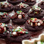 Schoko Cookies mit Marshmallows