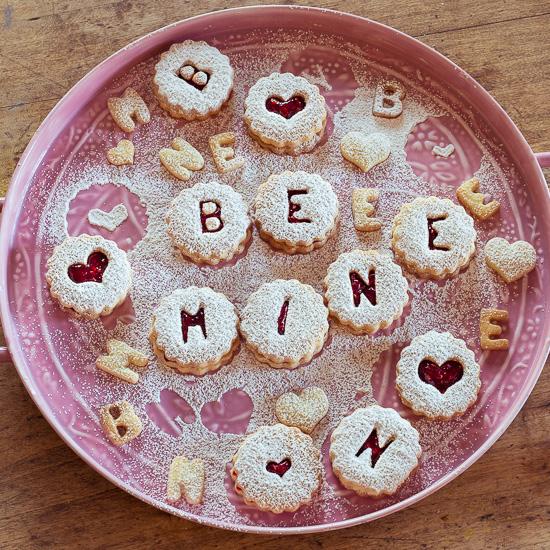 So sehen die Cookies aus, die wir beim Crafternoon Backkurs im Februar backen.